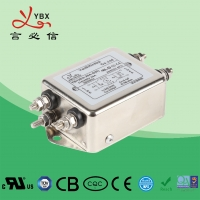 Quality 10A,120V 250V single-phase two-stage enhanced Electrical Noise Filter , Medical AC Power Line Noise Filter for sale