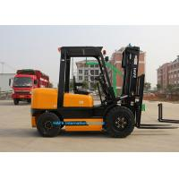 Quality Premium Quality 3.5T Diesel Operated Forklift , High Reach Forklift Ceiling Type for sale