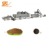 Quality 2-3 TPH Floating Fish Feed Extruder Staineless Steel 201 Material for sale