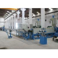 Quality PLC Controlled Cable Production Line With Linkage Wire Cutting Machine for sale