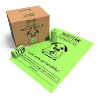 Quality Durable Earth Friendly Trash Bags , Biodegradable Plastic Bags For Pet Waste  for sale