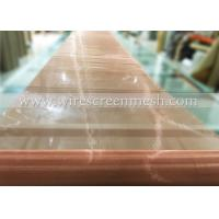 Quality Phosphor Bronze Wire Screen Mesh Twill Weave Abrasion Resistance For Metal Power Filtration for sale