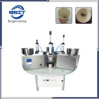 China Manual China SS304  paper cup making machine prices/paper tea glass machine price on sale