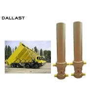 Quality 3 / 4 Multi Stage Telescopic Dump Truck Lifting Hydraulic Cylinder for sale