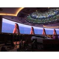 China Audio Visual P3 Curved LED Video Wall , Front Service Seamless Video Wall for Casino on sale