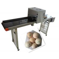 Whole Plate Egg Inkjet Marking Machine With Thermal Foam Type Multiple Nozzle