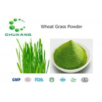 Quality Wheat Grass Powdered Herbal Extracts Triticum Aestivum L NaturalIngredients for sale