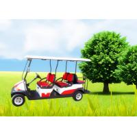 Quality Big Tyre 6 Seater Golf Cart , Street Legal Electric Golf Carts Ce Approved for sale