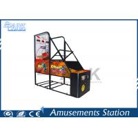 China crazy hoop Coin Pusher Arcade Basketball Game Machine Normal Size 100W on sale