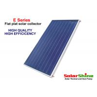 Quality Solar Power Flat Plate Solar Collector 1m X 2m High Density Polyurethane Insulation for sale