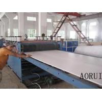 China PVC Decoration Foamed Board Extruder Foam Sheet Extrusion Line For Business Plate on sale