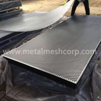 Buy 60 Degree Round Hole Perforated Metal at wholesale prices