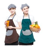 Quality Multi - Color Convenient Fancy Cooking Aprons Popular Style With 2-3 Big Pockets for sale