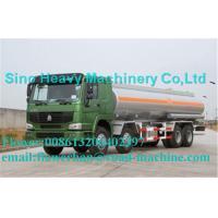 China Green Sinotruck Howo Water Tanker 8 x 4 38000L Truck 371hp Euro 2 / Euro 3 wholesale