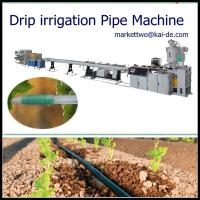 Quality Drip Tube Making Machine with round dripper inside/drip irrigation pipe machine price for sale