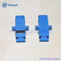 Buy cheap Blue Color Telecom Simplex SC Fiber Optic Adapter from wholesalers