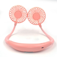 Quality 5200mAh ABS Silicone Portable Neckband Fan Rechargeable For Sport for sale