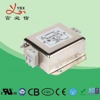 Quality EMI Electrical Line Noise Filter Single Phase Two Stage AC Motor for sale