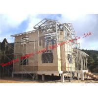 Quality Aluminum-zinc Alloy Structure Light Weight Steel Villa with Corrosion Resistance for sale