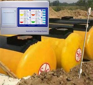 GUIHE TCM-1 mobile fuel station tank level monitoring system high level alarm magnetostrictive sensor