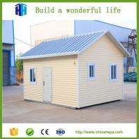 Buy 2017 new material prefab houses with exterior wall decoration for sale at wholesale prices