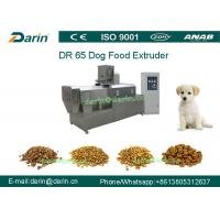 Quality DR65 Automatic Stainless Steel  Dog Food Extruing Machine / Dry Pet Food Processing Line for sale