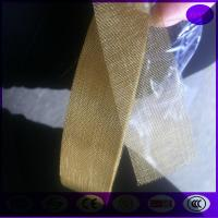 Quality 16 mesh ,wire dia 0.35mm, aperture 1.30mm plain weave brass wire mesh for sale