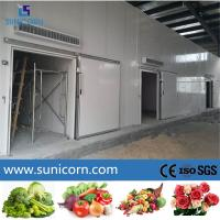 China Multi Commodity Cold Storage Room For Frozen Meat And Seafood Distribution on sale