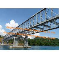 Quality New Design Prefabricated Delta Modular Steel Bridge Simple Structure Truss Supporting For performance for sale