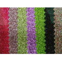 Quality Best-seller PVC glitter leather( S9002A) for sale