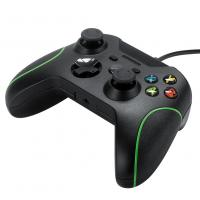 Quality Factory cheap wired Xbox one controller gamepad joystick black color 1.2M cable for sale