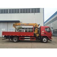 Quality New XCMG hydralic Telescopic Boom Truck Loader Crane , 8T Truck Mounted Crane CE ISO for sale
