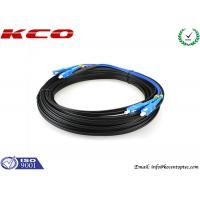 Quality SC / UPC To SC / UPC FTTH Single Mode Duplex Fiber Optic Patch Cord for sale