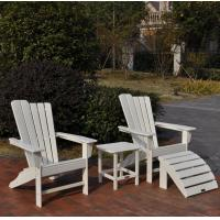 Quality plastic-wood adirondack chair for sale