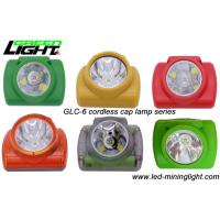 Quality Ultra Bright Cordless LED Safety Mining Cap Lamp with High Intensity PC Strong Material for sale