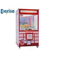 Quality LED Doll Grabbing Machine , Children'S Sweet Grabber Machine Stable Game System for sale