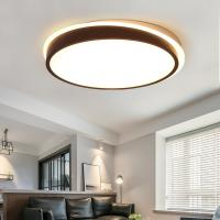 Quality Contemporary Black White ceiling lights Indoor flush mount lighting (WH-MA-07) for sale