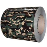 Quality Camouflage Color Stainless Steel Strip Roll Coil Inner Diameter Φ508 / Φ610MM for sale
