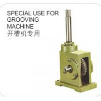 Quality Cast Iron Shell Worm Reduction Gear Special Use for Grooving Machine Made in China for sale