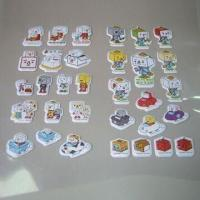 Quality Foam Stickers with Four-color Printing, Customized Designs are Welcome for sale