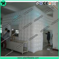 Quality Inflatable Cube Tent,Event Customized Inflatable Tent,Lighting Inflatable Tent for sale
