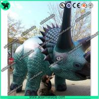 Quality Giant Event Animal 4m Inflatable Triceratops for sale