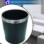 Quality Leather Waste Bin for sale
