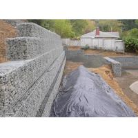 Quality Architectural Retaining Wall Gabion Baskets , Mild Steel Gabion Rock Cages for sale