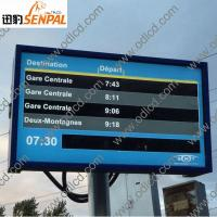 China outdoor advertising lcd display screen prices on sale