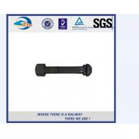 China High Tensile Fastener Nut And Bolt Railway Bolt With Dacromet / Sherardizing on sale