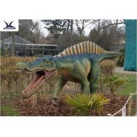 CE , RoHS Giant Dinosaur Statue Model Exhibition For Dinosaur Park Display