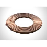 China 5/8 Copper Refrigeration Tubing  Soft Annealed Pancake Copper Pipe Coil on sale