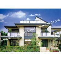 Quality Prefab House Light Steel Villa Metal Buildings With Welded Frame Easy Construction for sale