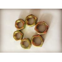 Quality Chinese Standard M18 Hexagon Thin Nuts Anti Corrosion For Bolts And Screws for sale